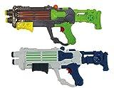 GYD XXXL Wassergewehr Doppel EXSHOT Super Shooter Splash Boomber DOPPELPACK