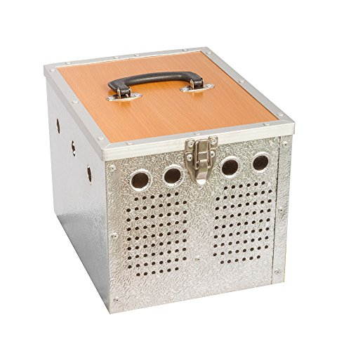 Transportkorb - Aluminium - 2 Abteilungen