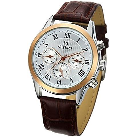 Comercial multifunción resistente al agua reloj/Actual reloj masculino/ cinturón profundidad resistente al