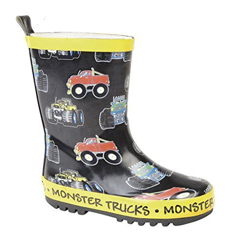 Stormwells Childrens Monster Trucks Wellies/Wellintons