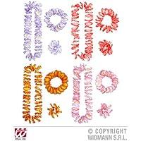 Luau Hawaiian Set (Lie Crown Cuff) (Lilac/Pink/Red/Orange) Accessory for Tropical Lua Fancy Dress