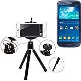 Galleria fotografica Smartphone Tripod / basamento mobile / cavalletto come per Samsung Galaxy S3 Neo. Alluminio Treppiede / treppiede...