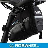 Roswheel Montaña de ciclo al aire libre de la bici de silla de montar la bolsa del bolso del asiento de la cola con Velcro