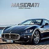 2018 Maserati Wall Calendar 30 cm x 30 cm - With 210 Calendar Stickers