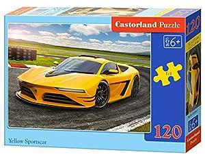 Castorland B-13500-1 - Puzzle (120 Piezas), diseño de Coche Deportivo