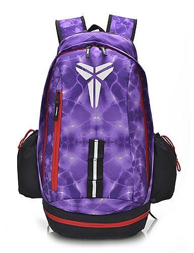 HWB/ 40 L Tourenrucksäcke/Rucksack / Travel Organizer Camping & Wandern Draußen Wasserdicht / Schnell abtrocknend / tragbar / Atmungsaktiv Lilac
