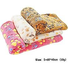 PET SPPTIES Pata pequeña impresión paño grueso y suave manta suave estera del animal doméstico 3