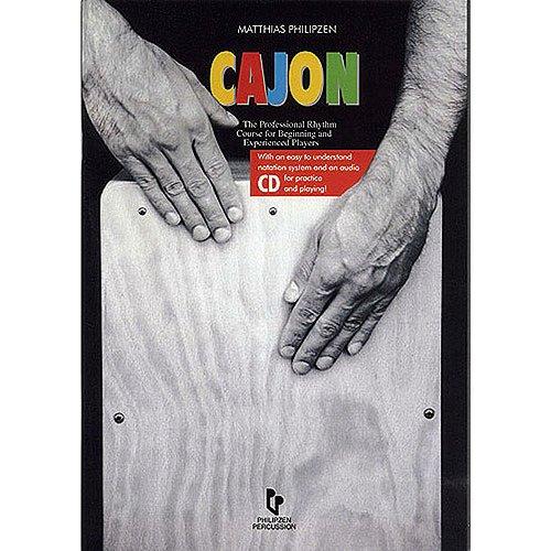 Matthias Philipzen: Cajon (Book And CD) - German Language Edition. Für Percussion, Latin Percussion