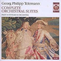 Sämtliche Orchestersuiten Vol.1
