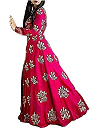 Gowns For Women Party Wear Lehenga Choli For Women Party Wear Salwar Suits For Women Stitched Dress Materials...