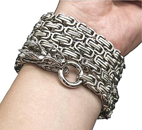 Penixon self defense hand bracelet chain en acier inoxydable (Couleur B)