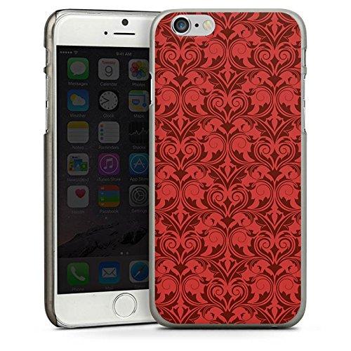 Apple iPhone 5s Housse Étui Protection Coque Rétro Vintage Rétro Collection Abstrait CasDur anthracite clair