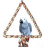 UEETEK Juguete del Pájaro Aves Jaula Juguete (Coloridos)
