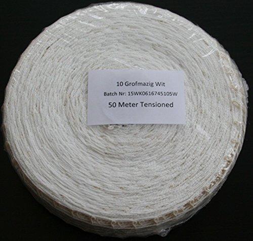50m Kaliber 10 Bratennetz / Rollbratennetz / Räuchernetz für Einfüllrohr mit einem Durchmesser von ca. 60 mm