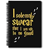 "Mc Sid Razz Official "" Harry Potter ""- I solemnly swear , Notebook Licensed by Warner Bros , USA"