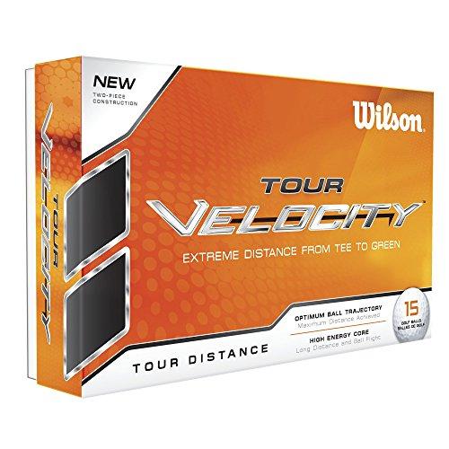Wilson Staff WGWR60100, Homme Balle de Golf Souple en 2 Pièces pour une Distance Maximale, Boîte...