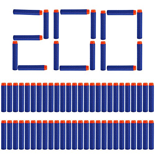 Stück 7,2 cm Refill Darts Foam Pfeile Ammo Pack für Nerf N-Strike Elite Series - Blau ()