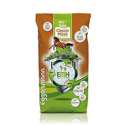 Eggers homme classique muesli Wellness EMH pour les chevaux, 1-Pack (1 x 20 kg)