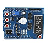 Sharplace Multifunktionale Erweiterungskarte Shield Development Board Erweiterungskarten Kit für Arduino UNO R3