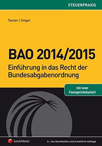 Bfg-buch (BAO 2014/2015 (Steuerpraxis))
