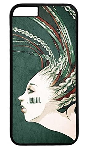 Blonde with barcode tattoo on cheek Easter Thanksgiving Personlized Masterpiece Limited Design PC Black Case for iphone 6 by Cases & Mousepads