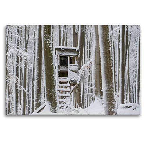 Calvendo El cuatriciclo está nevado y Tranquilo, 120 x 80 cm