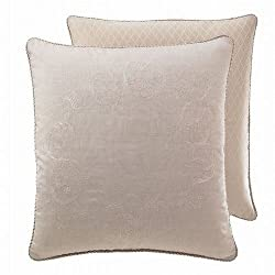 Croscill Home Ava Euro Pillow Sham Linen By Croscill