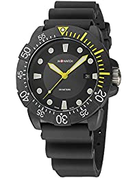 M-WATCH Aqua 43 Analog Black Dial Men's Watch-WYY.92220.RB