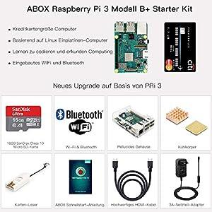 ABOX-Raspberry-Pi-3-Modell-B-Plus-B-Ultimatives-Starterkit-mit-32GB-Class-10-SanDisk-Micro-SD-Karte-25A-EINaus-Schaltnetzteil-und-Premium-Black