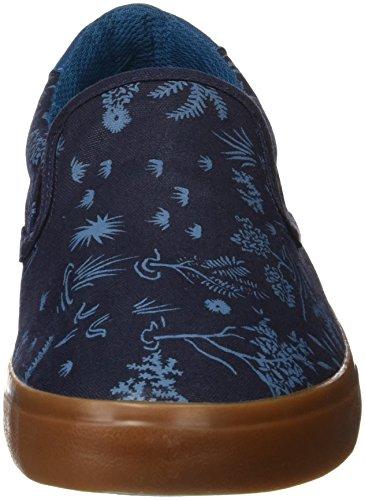 Quiksilver Shorebreak Slip, Chaussons Mules Homme Bleu (Blue/blue/white)