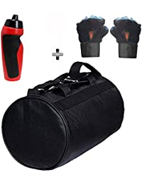 SOOPLE SPORTZ Gym Bag Combo Set Enclosed With Soft Leather Gym Bag For Men And Women For Fitness - Bag Size 49cm... - B07CSS4LS7