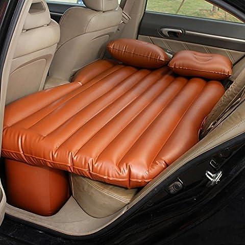 Coche dormitorio cama de aire cojín móvil Viajes inflación asiento posterior más grueso colchón extendido404 con un conjunto completo de