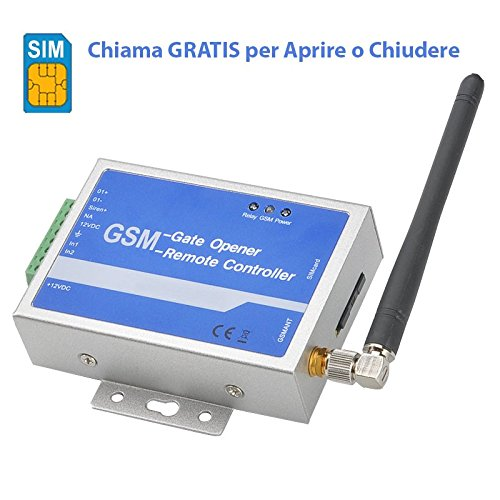 Relè GSM Quad-Band, Apriporta, Apricancello, Interruttore Remoto