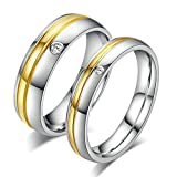 Aooaz 2 Zircon Rings For His and Hers - Best Reviews Guide