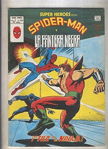 super-heroes-volumen-2-numero-123-spiderman-y-la-pantera-negra