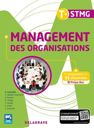 Management des organisations Tle STMG par Collectif