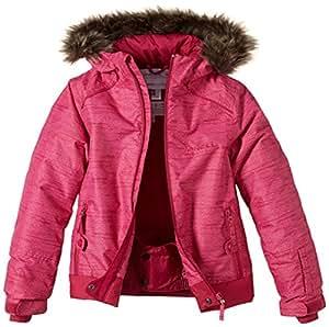 O'Neill Pg Tigereye Veste de ski Fille Rose (Orange) Aop FR : 12 ans (Taille Fabricant : 164)