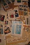 Robbert´s BRD Briefmarken Kiloware, 50g Missionsware, wie gespendet auf Papier, gestempelt