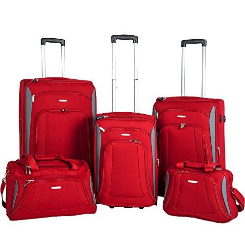 newest-super-lightweight-2-wheel-spinner-5-piece-set-suitcase-luggage-sets-flight-bag-travel-bag-tro