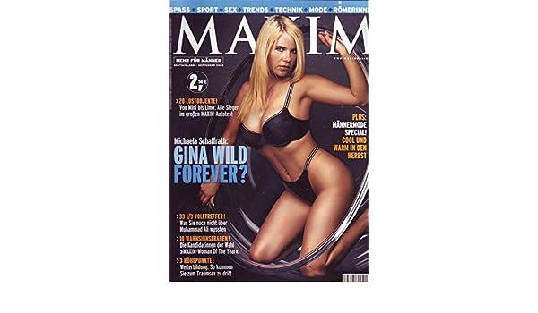 Maxim 092002 Michaela Schaffrath Gina Wild Forever Amazonde