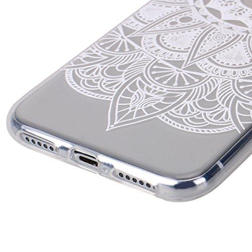 iPhone X Tasche, iPhone X Tasche Silikon, iPhone 10 Tasche Silikon, Moon mood® Gemalt Entlastung Relief Design Silikon Hülle für Apple iPhone 10 X 5.8 Zoll Thin Dünn Weich TPU Schutz Etui Cover, Flexi Muster 2