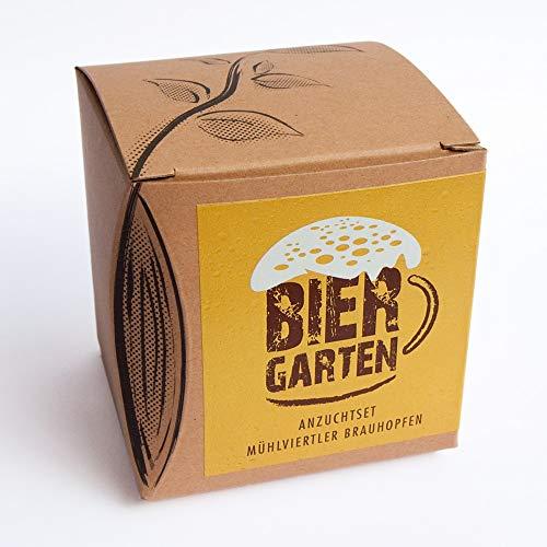 Geschenk-Anzuchtset Biergarten mit Mühlviertler Naturhopfen