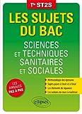 Sciences et techniques sanitaires et sociales - Terminale ST2S...