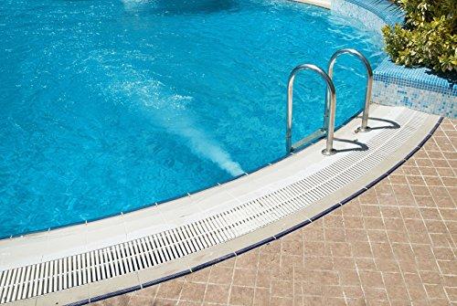 12,39EUR/L - 10L Schwimmbadfarbe entspr. RAL 5012 Lichtblau Poolfarbe Fischbeckenfarbe Schwimmbeckenfarbe Schwimmbad Pool Fischteich Farbe Beschichtung Anstrich Fischteichfarbe