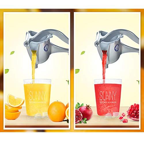 BXX Sommer Getränkezubereitung Mixer-Multifunktions-Alloy Squeezer Hochleistungs-Handpresse FruchtsaftpresseNussschäler Abnehmbare Zitronen-Limettenpresse Manuelle Zitruspresse Entsafter für Grapefru
