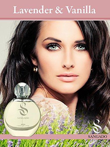 Sandago Lavender and Vanilla - Ein Hochkonzentriertes Parfüm Für Frauen (Klasse Parfum) 50 Ml -