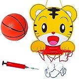 MagiDeal Mini Basketball Schießen Spielset für Kinder - Wandmontage Basketballboard + Ball + Luftpumpe - 3er/Set