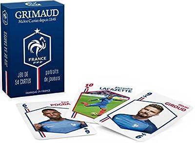 FFF - Jeu de cartes officiel de l'Equipe de France de Football - Version Joueurs