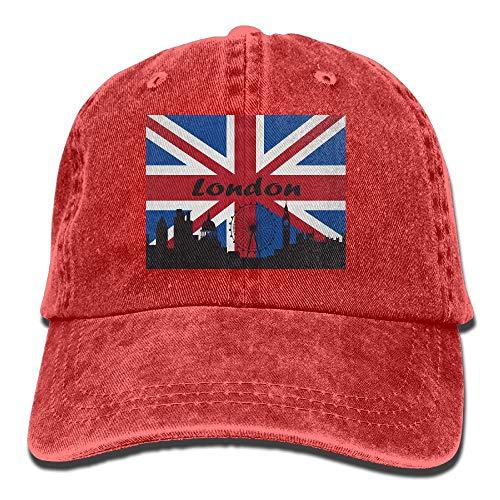 Xdevrbk Hombres Mujeres British Flag London Skyline