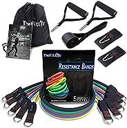TheFitLife Bandas Elasticas Fitness Musculacion - Tubos de Entrenamiento para Deportes Interiores o Exteriores
